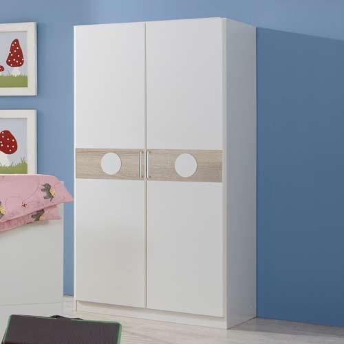 moebeldeal 3 tlg babyzimmer in wei eiche s gerau nachbildung schrank b 90 cm babybett. Black Bedroom Furniture Sets. Home Design Ideas