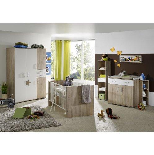 moebeldeal babyzimmer isabel saegerauh 8tlg. Black Bedroom Furniture Sets. Home Design Ideas