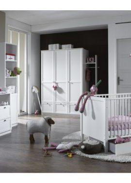 Babyzimmer-Kinderzimmer-Schrank-Wickelkommode-Bett-Filou-8-teilig-0