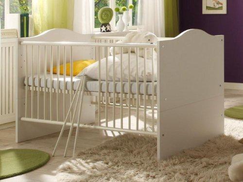 Babyzimmer-Luca-2-WeissWeiss-mit-goldener-Krone-6-tlg-0-1