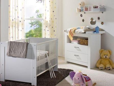 Moebeldeal babyzimmer nana weiss weiss 3trg for Jugendzimmer 6 qm