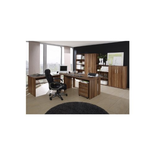 moebeldeal b ro saturn b rom bel set 8 tlg dekor walnu komplettb ro heimb ro b roeinrichtung. Black Bedroom Furniture Sets. Home Design Ideas