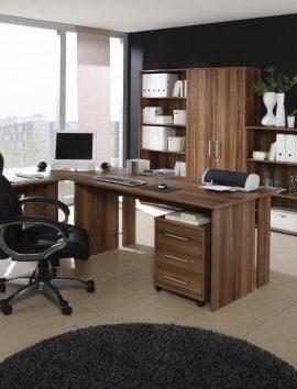 Brombel-Set-Komplettes-Arbeitszimmer-Omega-Walnu-Dekor-8-teilig-0