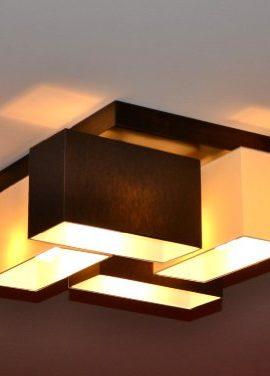 Deckenlampe-Deckenleuchte-Lampe-Leuchte-4-flammig-TOP-Design-Merano-B4MIX-Creme-Braun-0