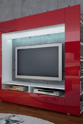 moebeldeal tv board lowboard lima v2 in schwarz. Black Bedroom Furniture Sets. Home Design Ideas