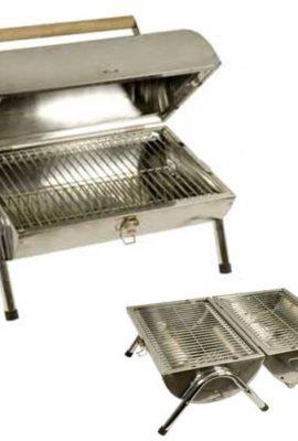 Edelstahl-BBQ-Grill-Tragbarer-Kohlegrill-0