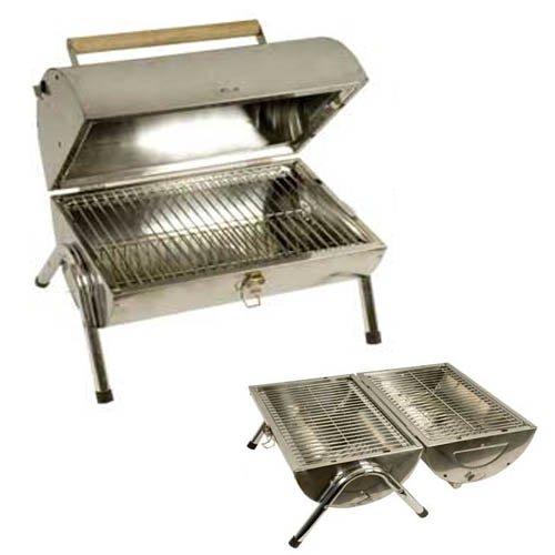 moebeldeal edelstahl bbq grill tragbarer kohlegrill. Black Bedroom Furniture Sets. Home Design Ideas