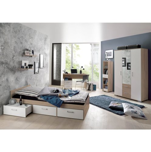 moebeldeal jugendzimmer steffi 7 tlg. Black Bedroom Furniture Sets. Home Design Ideas