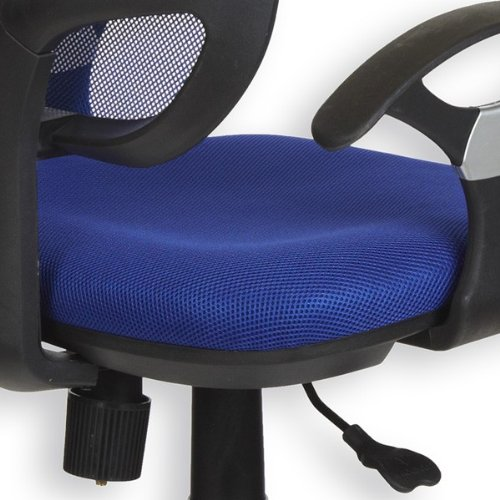 Moebeldeal kinderdrehstuhl cool blau for Sitzgelegenheit jugendzimmer