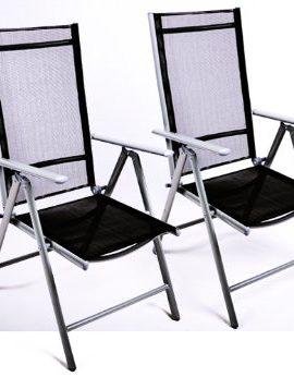 Klappstuhl-2er-Set-Aluminium-Gartenstuhl-Alu-Campingstuhl-verstellbar-schwarz-0