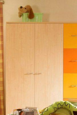 Kleiderschrank-Kinderkleiderschrank-P5T55F03-ahorn-gelb-orange-0