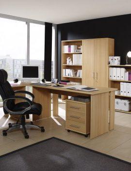 Komplettes-Arbeitszimmer-Brombel-in-Buche-8-teilig-0