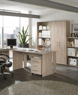 Komplettes-Arbeitszimmer-Brombel-in-Eiche-8-teilig-0