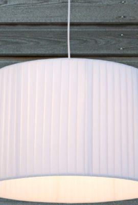 LOUNGE-DESIGN-HNGELEUCHTE-CUCINA--40cm-Deckenlampe-Hngelampe-optimal-fr-Kche-Wohnzimmer-weiss-0