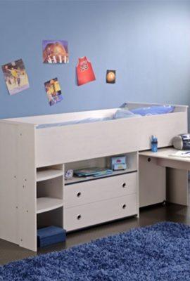 moebeldeal kombination aus bett schrank und schreibtisch. Black Bedroom Furniture Sets. Home Design Ideas