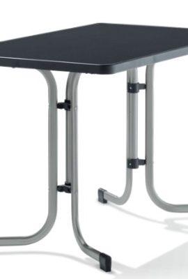 Sieger-233A-Boulevard-Klapptisch-mit-mecalit-Pro-Platte-115-x-70-cm-Stahlrohrgestell-graphit-Tischplatte-Schieferdekor-anthrazit-0