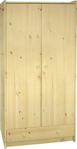moebeldeal steens 29010019 kleiderschrank sfk 180 x 95 x. Black Bedroom Furniture Sets. Home Design Ideas
