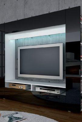 TV-Medienwand-schwarz-hochglanz-0