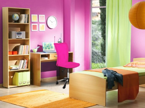 Moebeldeal terena premium kinderstuhl pink rosa for Sitzgelegenheit jugendzimmer