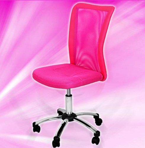 moebeldeal terena premium kinderstuhl pink rosa drehstuhl f r kinder 090907. Black Bedroom Furniture Sets. Home Design Ideas