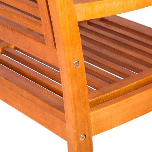 Ultranatura-Gartenbank-2-Sitzer-Canberra-Serie-Edles-Hochwertiges-Eukalyptusholz-FSC-zertifiziert-118-cm-x-62-cm-x-14-cm-0-2