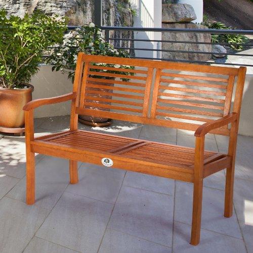Ultranatura-Gartenbank-2-Sitzer-Canberra-Serie-Edles-Hochwertiges-Eukalyptusholz-FSC-zertifiziert-118-cm-x-62-cm-x-14-cm-0-4