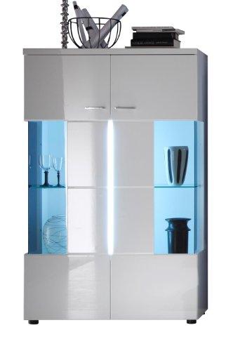 moebeldeal trendteam vitrine nightlife. Black Bedroom Furniture Sets. Home Design Ideas