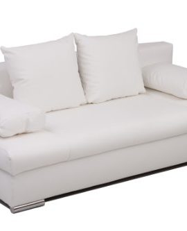 B-famous-Schlafsofa-Chicago-PUR-Kunstleder-weiss-200x95-cm-0