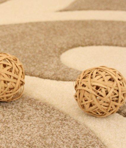 Designer-Teppich-mit-Konturenschnitt-Modern-Beige-Creme-Grsse160x230-cm-0-3