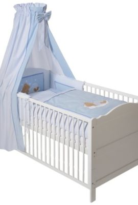 Easy-Baby-400-81-Bettset-Sleeping-Bear-blau-0
