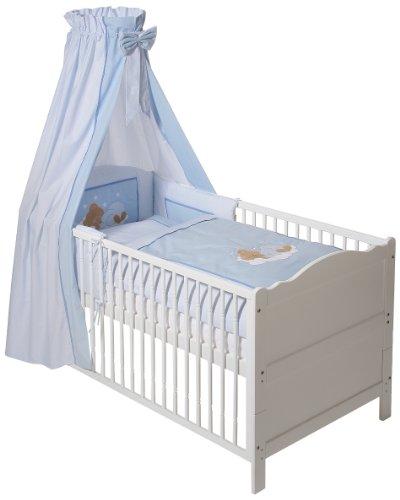 Easy-Baby-400-81-Bettset-Sleeping-Bear-blau-0