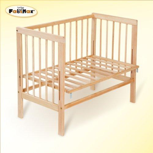 FabiMax-Beistellbett-Babymax-basic-natur-inkl-Matratze-PROTECT-und-Nest-Amelie-creme-0-0