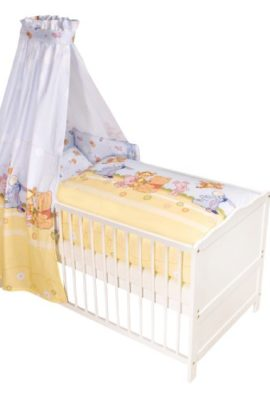 Julius-Zllner-5230010003-Baby-Pooh-and-Friends-Bett-Set-3-teilig-0