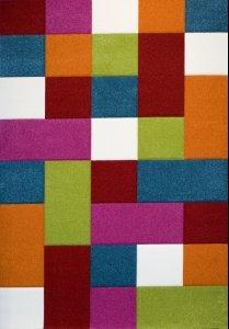 Kinder-Teppich-Karo-Design-Multicolour-Grn-Rot-Grau-Schwarz-Creme-Pink-Grsse120x170-cm-0-1