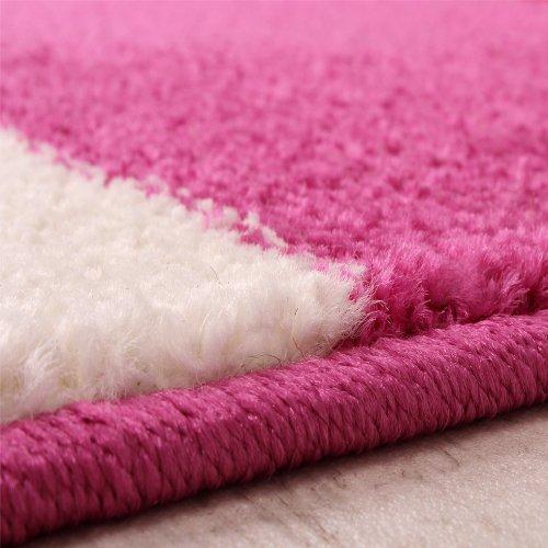 Kinderteppich-Blumen-Muster-Pink-Lila-Weiss-Grsse160x220-cm-0-1