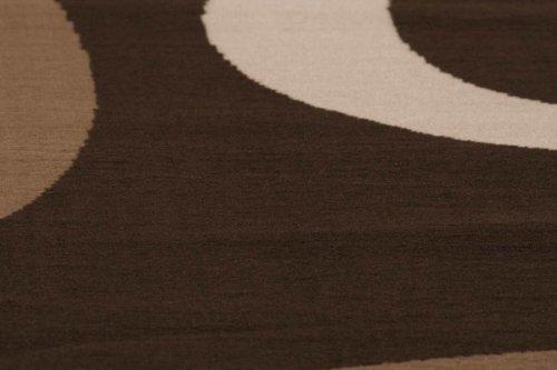 Lalee-347138791-Moderner-Designer-Teppich-Muster-Kreise-Retro-Neu-Braun-Grsse-160-x-230-cm-0-0