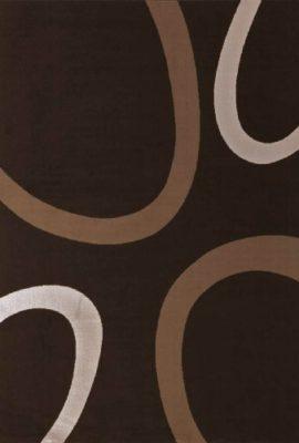 Lalee-347138791-Moderner-Designer-Teppich-Muster-Kreise-Retro-Neu-Braun-Grsse-160-x-230-cm-0