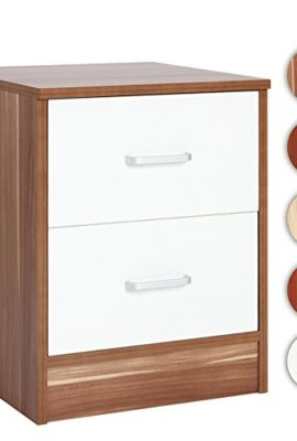 Nachttisch-mit-2-Schubladen-dekorative-Kommode-ca-375-x-375-x-49-cm-Farbwahl-0