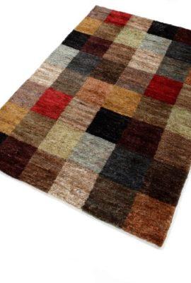 PuRo-Lifestyle-NFT-108600-070-Teppich-Diamond-100--Hanf-im-Flor-45-kgqm-70-x-140-cm-multicolor-0
