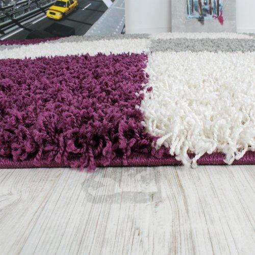 moebeldeal shaggy teppich hochflor langflor gemustert. Black Bedroom Furniture Sets. Home Design Ideas