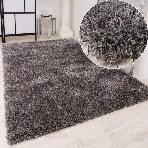 moebeldeal shaggy teppich hochflor langflor leicht meliert. Black Bedroom Furniture Sets. Home Design Ideas