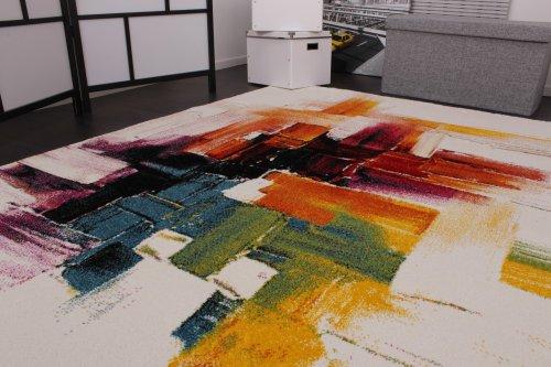 Teppich-Modern-Splash-Designer-Teppich-Bunt-Brush-Neu-OVP-Grsse120x170-cm-0-2