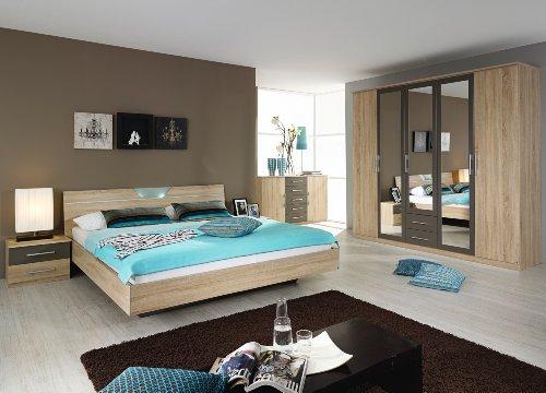 rauch-Schlafzimmer-Valence4-teilig-Eiche-Sonomalavagrau-Eiche-Sonomalavagrau-0