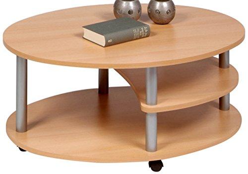 Alfa-Tische-M838-Couchtisch-Primo-91-x-70-cm-Buche-Dekor-auf-Rollen-Ausfhrung-oval-0