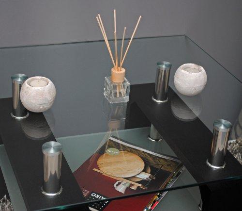 moebeldeal glastisch. Black Bedroom Furniture Sets. Home Design Ideas