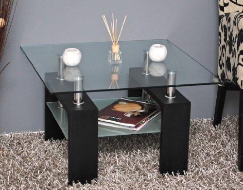 Design-Glastisch-Beistelltisch-70-x-70-cm-Edelstahl-Holz-Schwarz-8-mm-ESG-Glas-0-6
