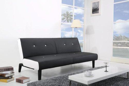 NEG-Design-Schlafsofa-HELIOS-schwarzwei-mit-Napalon-Leder-Bezug-Klappsofa-3-Sitzer-Liegeflche-179x108cm-sehr-bequem-0-5