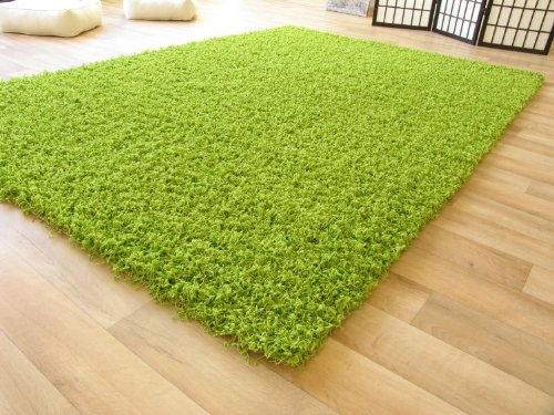 Shaggy-Langflor-Hochflor-Teppich-Funny-grn-Sofort-lieferbar-ko-Tex-Gre-120x170-cm-0
