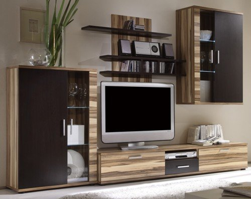 moebeldeal wohnwand. Black Bedroom Furniture Sets. Home Design Ideas