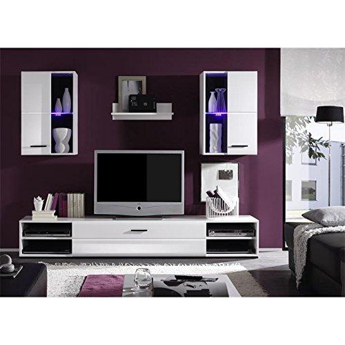 Wohnwand-Anbauwand-Schrankwand-wei-hochglanz-inklusive-LED-Beleuchtung-0-0